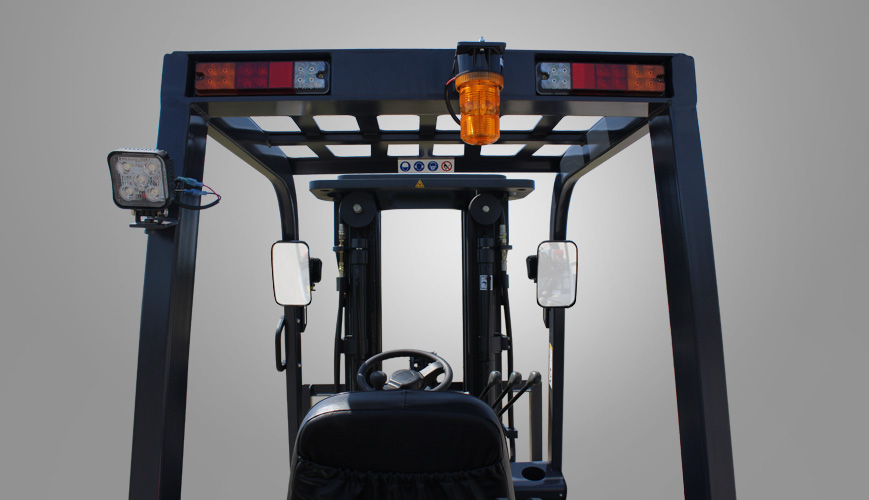 Mast Forklift Operation : Forklift mast view stärke material handling group