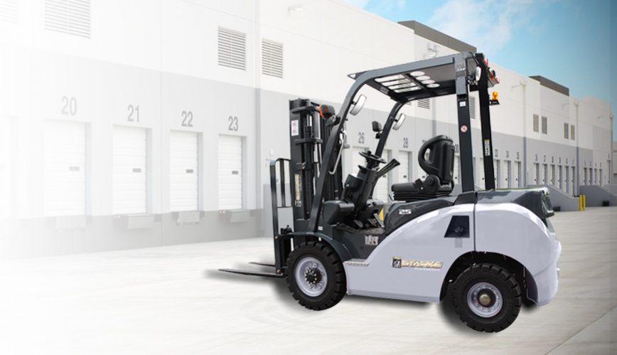 5000 lb diesel forklift