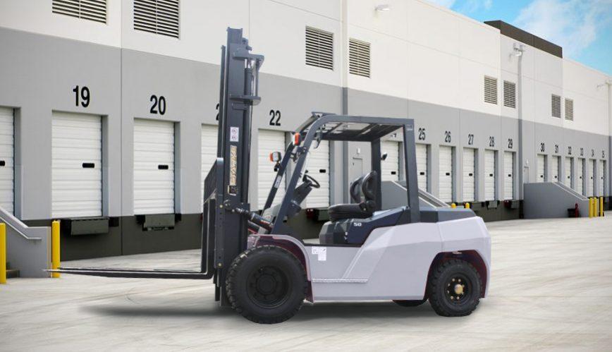 10000 lb diesel forklift